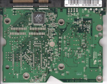 WD740GD-50FLC0, 2061-701213-100 AT, WD SATA 3.5 PCB