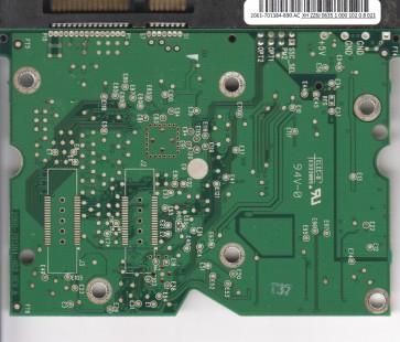 WD1500AHFD-00RAR1, 2061-701384-890 AC, REV A, WD SATA 3.5 PCB