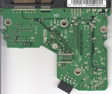 WD1600JS-00NCB1, 2061-701335-B00 AE, WD SATA 3.5 PCB