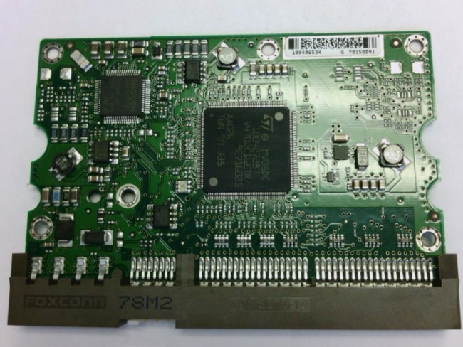 STM3500630A 3.AAE 9DP046-326 de la Unidad Maxtor IDE 3.5 Tarjeta L/ógica PCB 100406534 F
