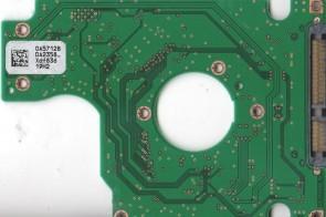 HTS543212L9A300, 0A57128 DA2358_, 0A57362, DA2352, Hitachi SATA 2.5 PCB
