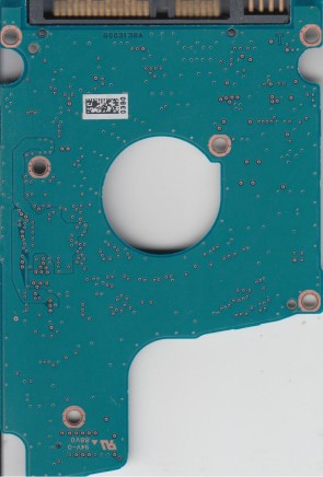 MQ01ABD050, AA00/AXC001C, HDKEB03H0A01 T, G003138A, Toshiba SATA 2.5 PCB