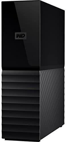WD 8TB My Book Desktop External Hard Drive - USB 3.0 - WDBBGB0080HBK-NESN