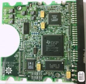 90432D3, NMC, DSP 011100219K, Maxtor 4.3GB IDE 3.5 PCB