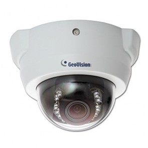 GeoVision GV-FD1210 1.3 Megapixel 3x Zoom WDR Network Dome Camera