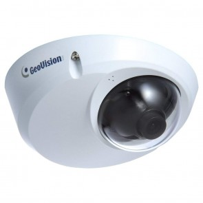 GeoVision GV-MDR120 1.3 MP H.264 Mini Fixed Rugged Dome Internet Protocol Camera