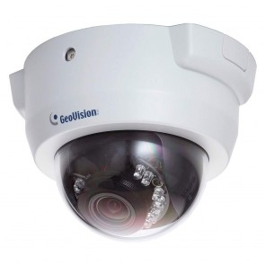 Geovision FD2410 | 2Mp Motorized Dome, 3x Zoom, built-in IR