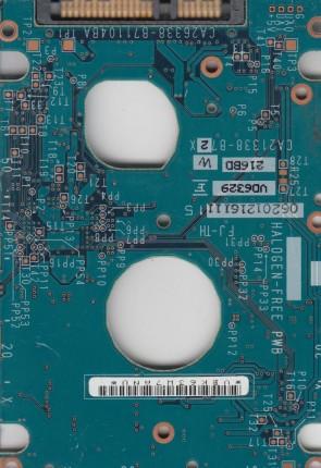 MHV2100BH, CA06672-B38500AP, CA26338-B71104BA, Fujitsu SATA 2.5 PCB