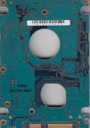 MHZ2160BH, CA07018-B56400AP, CA21344-B84X, Fujitsu SATA 2.5 PCB