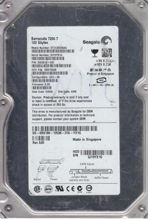 TK Seagate 160GB SATA 3.5 Hard Drive 9RX PN 9CY132-033 FW 3.ADA ST3160815AS