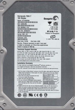 Seagate 9K2003-304 4.3GB 3.5 INCH IDE Hard Drive