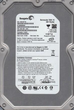 Maxtor SATA 3.5 PCB MX15 9GT158-335 100468979 G STM31000340AS