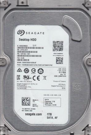 Seagate ST31000322CS P//N 9GW134-305 F//W SC13 1TB TK 9VX