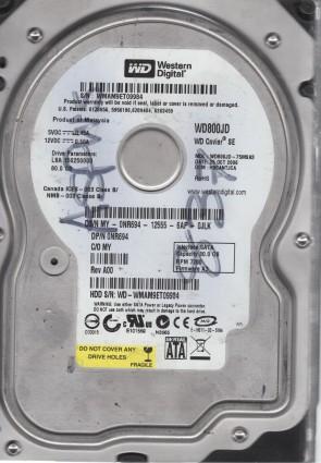 DCM HSCANTJCA Western Digital 80GB SATA 3.5 Hard Drive WD800JD-75MSA3