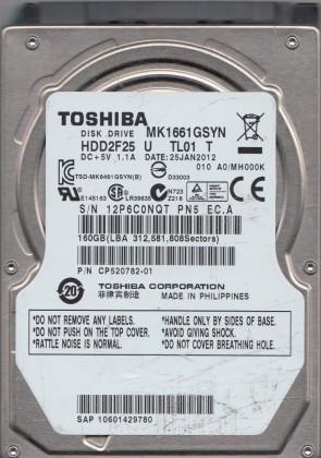 AA00//AV001D HDKCC01D2A01 T G003235B Toshiba SATA 2.5 PCB MQ01ACF032