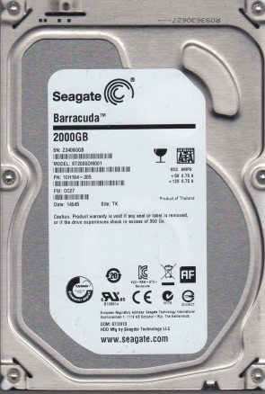 PN 9BD131-034 ST3808110AS Seagate 80GB SATA 3.5 Hard Drive 9LR FW 3.ADJ TK