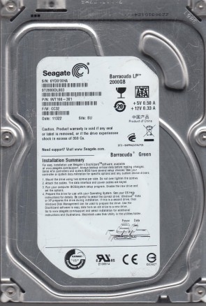 3.BKE 100419004 A 9BL14E-041 ST3250620NS Seagate SATA 3.5 PCB