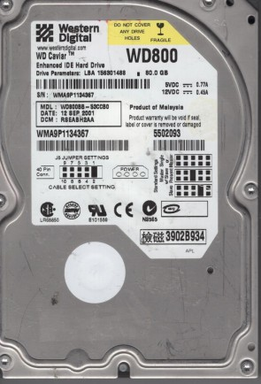 """PCB 771824-506 Western Digital 1Tb//2Tb//3Tb HDD 3.5/"""" SATA 2060-771824-006 Rev A"""