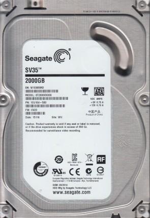 WU Seagate 500GB SATA 3.5 Hard Drive 5VM ST3500410AS FW CC31 PN 9HY142-310