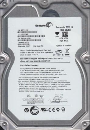 ST3500630NS Seagate 500GB SATA 3.5 Hard Drive 9QG TK PN 9BL146-037 FW 3BKS