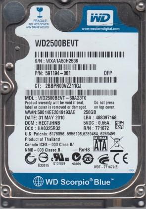 WXA1A50H2536