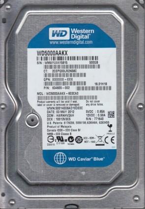 """Western Digital WD1600AAJS-60M0A1 3.5/"""" 160GB 7200RPM SATA HDD Hard Drive"""