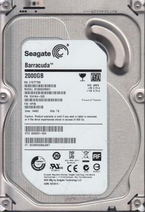 Seagate 8TB SATA 3.5 Hard Drive ST8000VX0002 ZA1 TK PN 1Z6112-500 FW AV01