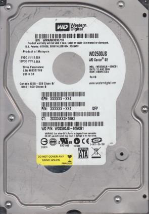 WD500AAJS-32TKA0 2061-701477-000 AB WD SATA 3.5 PCB