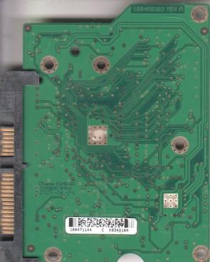 ST3250310AS, 9EU132-035, 3.ADA, 100471144 C, Seagate SATA 3.5 PCB
