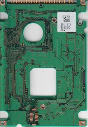 DADA-26480, PN 03L5640, 25L1273 F21875_, IBM 6.5GB IDE 2.5 PCB