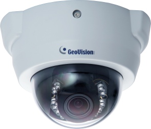 GeoVision GV-FD1510 1.3MP H.264 3x zoom Super Low Lux WDR IR Fixed IP Dome Camera