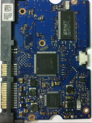 HDS722020ALA330, 0A71339 BA3293A, 0F10311, JPK3MA, Hitachi SATA 3.5 PCB