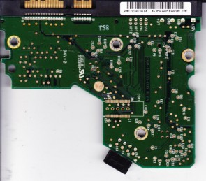 WD2500JS-40SGB0, 2061-701335-100 AA, WD SATA 3.5 PCB