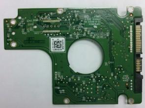 WD7500BPKX-75HPJT0, 2061-771629-106 AK, WD SATA 2.5 PCB