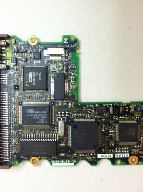 MPB3043AT, PN CA01630-B341, Fujitsu 4.3GB IDE 3.5 PCB