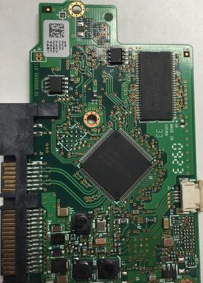 BA3013 HDT721075SLA360 0A29895 BA2950/_ Hitachi SATA 3.5 PCB 0A38115