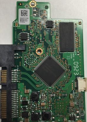 HDP725050GLA380, 0A29738 BA2631_, 0A34813, BA2727, Hitachi SATA 3.5 PCB