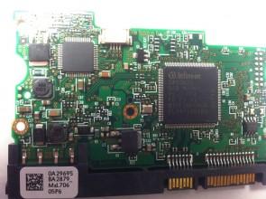 HDS721680PLA380, 0A29695 BA2879_, PN 0A33450, Hitachi 80GB SATA 3.5 PCB