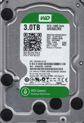 WD30EZRX-00SPEB0, DCM HARNHTJMAB, Western Digital 3TB SATA 3.5 Hard Drive