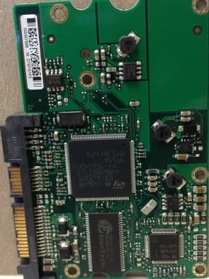 ST3250824AS, 9BD133-040, 3.BQH, 100387566 W, Seagate SATA 3.5 PCB