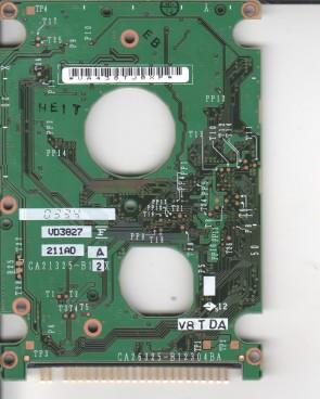 MHT2030AT, CA06297-B20300AP, CA26325-B12304BA, Fujitsu 30GB IDE 2.5 PCB