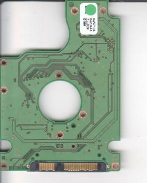 HTS723225L9A360, 0A57104 DA2344A, PN 0A58896, Hitachi 250GB SATA 2.5 PCB