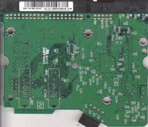 WD1600BB-00GUA0, 2061-001266-100 AC, WD IDE 3.5 PCB