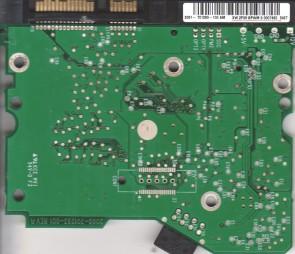 WD400BD-22JMC0, 2061-701293-100 AM, WD SATA 3.5 PCB