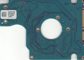HTS543232L9SA0, 0A57126 DA2357A, 0A72030, DA2834, Hitachi SATA 2.5 PCB