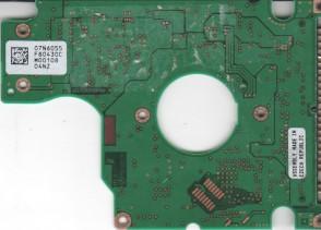 DJSA-210, 07N6055 F80430C, PN 07N6633, IBM 7.5GB IDE 2.5 PCB