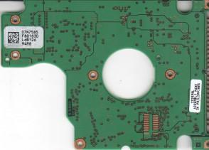 IC25N020ATDA04-0, 07N7585 F80183D, 07N7353, H32162, IBM IDE 2.5 PCB