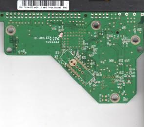 WD2500AVJB-63WKA0, 2061-701494-100 AHD9, WD IDE 3.5 PCB