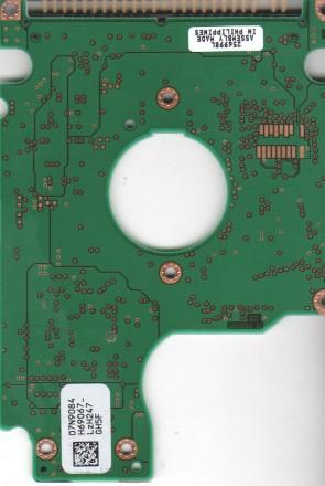 DARA-212000, 07N9084 H69067, PN 31L9874, IBM 12.07GB IDE 2.5 PCB