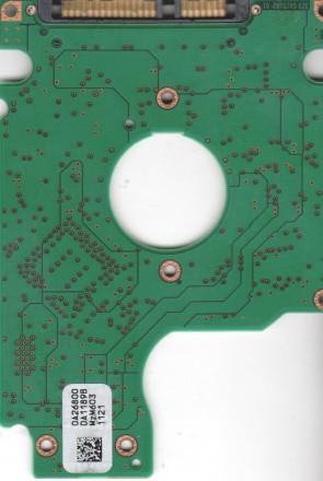 HTS541060G9SA00, 0A26800 DA1189B, PN 0A27403, Hitachi 60GB SATA 2.5 PCB